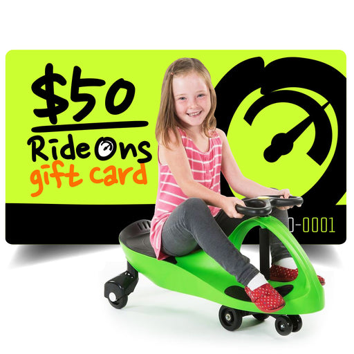 $50.00 AUD RideOns Gift Card