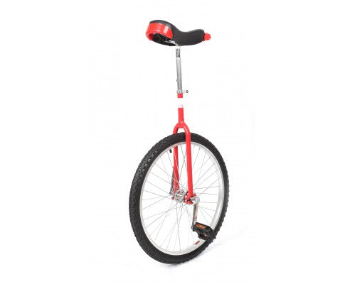 24'' Pro Circus Unicycle Bike | Red