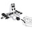 Stand Tall Tow Ball Car Mount Bicycle Carrier | Black & Silver