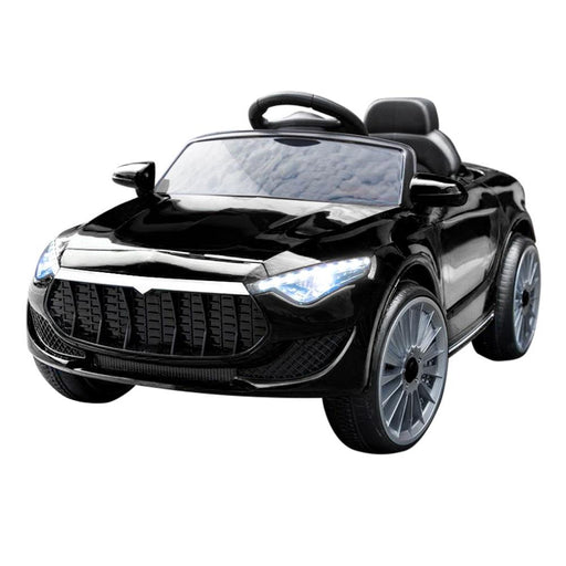Maserati Inspired Kids Ride On Car with Remote Control | Midnight Black