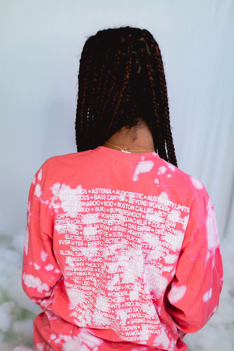 Line Up Long Sleeve Vol. 2 - Coral Clouds