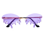 Drip Drip B*tch Sunnies - Grape