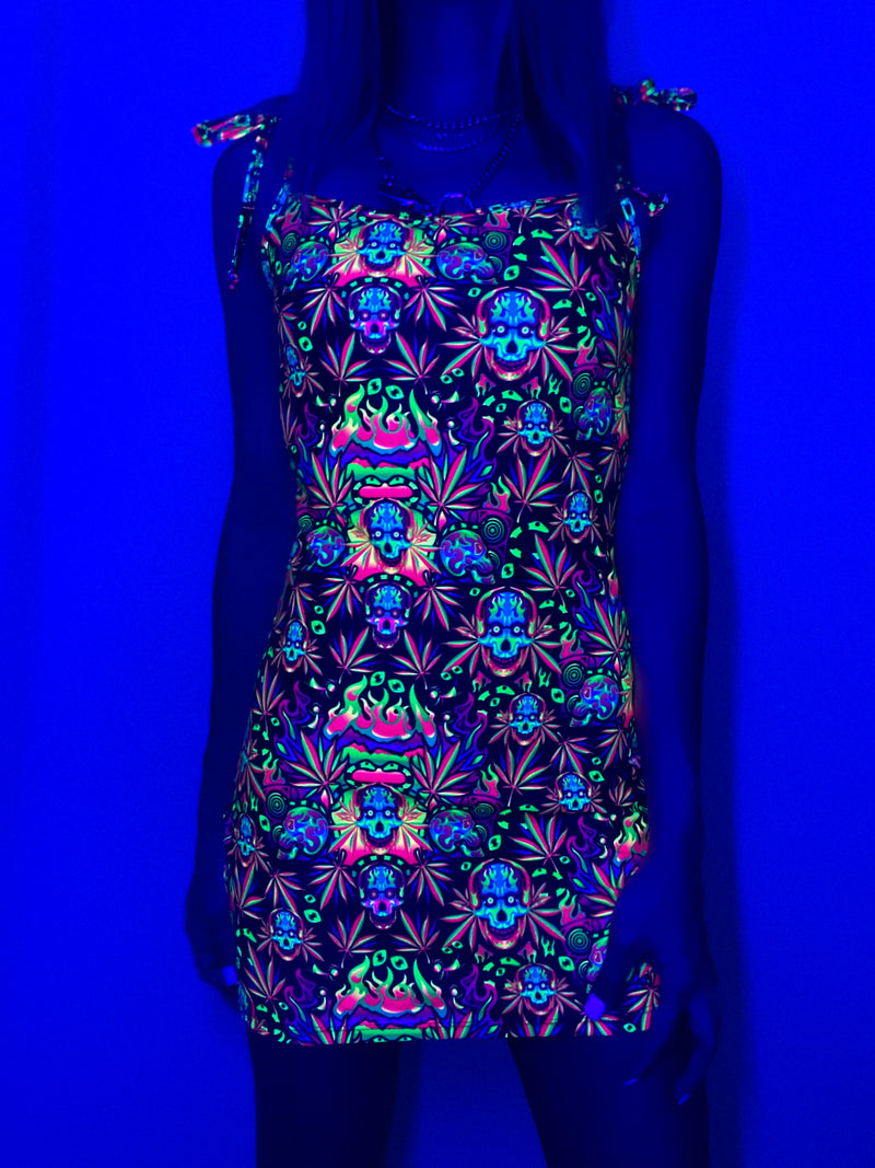 Psychotropic Mini Dress