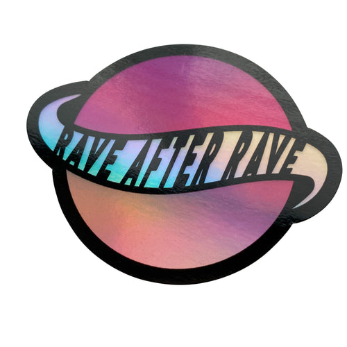 Sticker - Large Holographic Logo