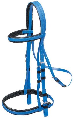 Padded Bridle with Cavesson