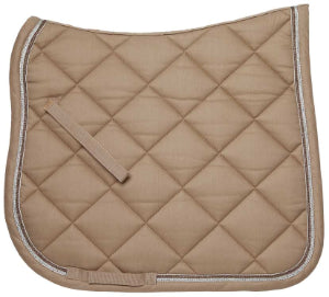 Glamour Dressage Saddlecloth Tan