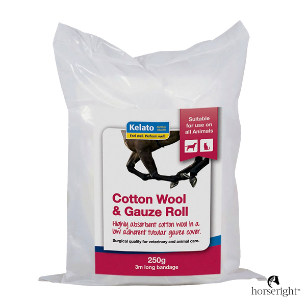Kelato Cotton Wool and Gauze Roll