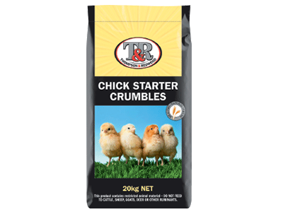 T&R Chick Starter Crumble