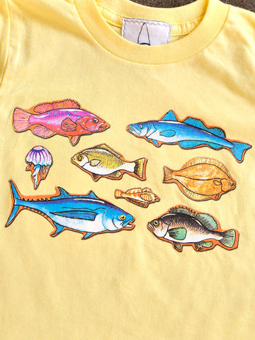 School of Fish Tee