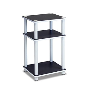 Furinno 3-Tier Dual Color Reversible End Table - furniturify