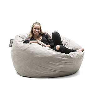 Large Fuf with Removable Washable Cover - furniturify