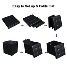 Load image into Gallery viewer, Cube / Footrest Stool / Puppy Step /Storage Ottoman - furniturify