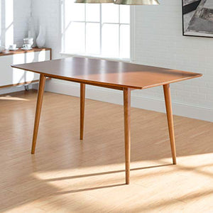 Mid-Century Wood Dining Table - furniturify