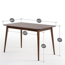 Load image into Gallery viewer, Zinus Jen Mid-Century Modern Wood Dining Table - furniturify