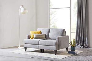 CHITA Sofa and Loveseat Modern Fabric Modular Living Room Couch - furniturify