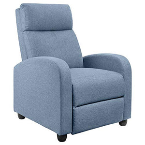 JUMMICO Fabric Recliner Chair - furniturify