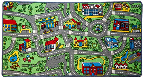Large Non-Slip Life Kids Playmat Rug, - furniturify