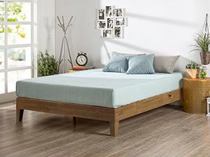 Deluxe Wood Platform Bed - furniturify