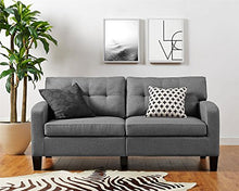 Load image into Gallery viewer, Dorel Living Room Zakari Sofa Gray - furniturify