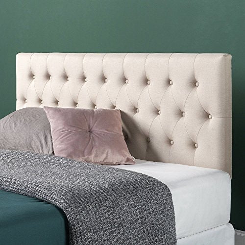 Zinus Trina Upholstered Modern Classic Tufted Headboard - furniturify