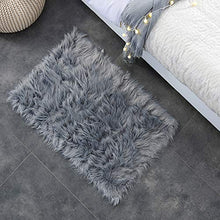 Load image into Gallery viewer, Deluxe Soft Faux Sheepskin Floor Rugs - furniturify