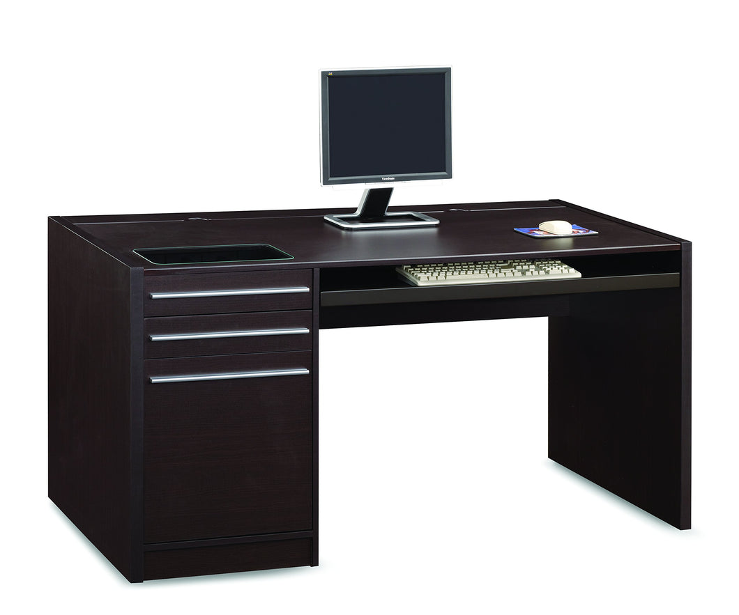 Coaster Home Furnishings Ontario Connect-It Computer Desk Cappuccino - furniturify