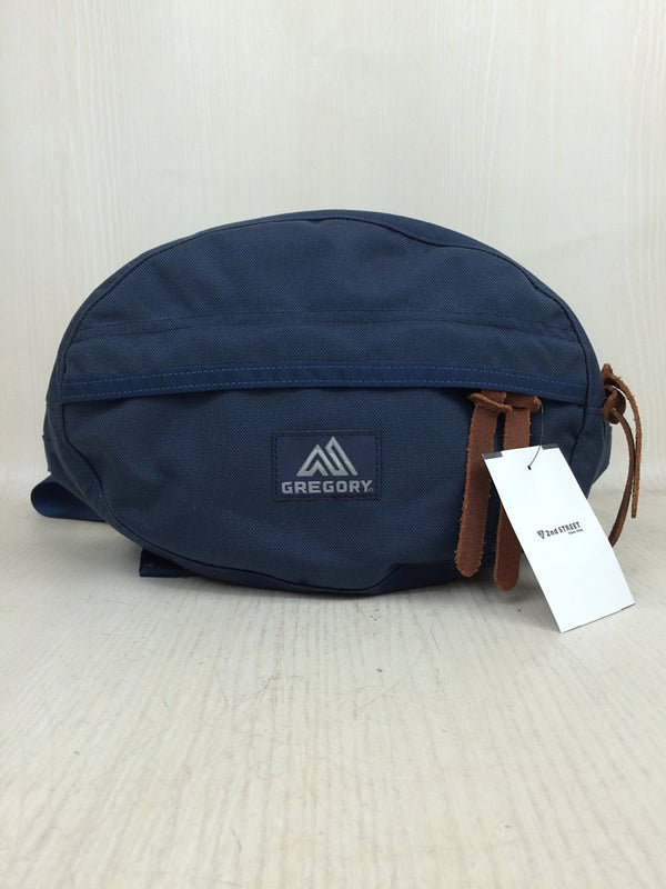 Navy Color Polyester Waist Bag [pre-owned]