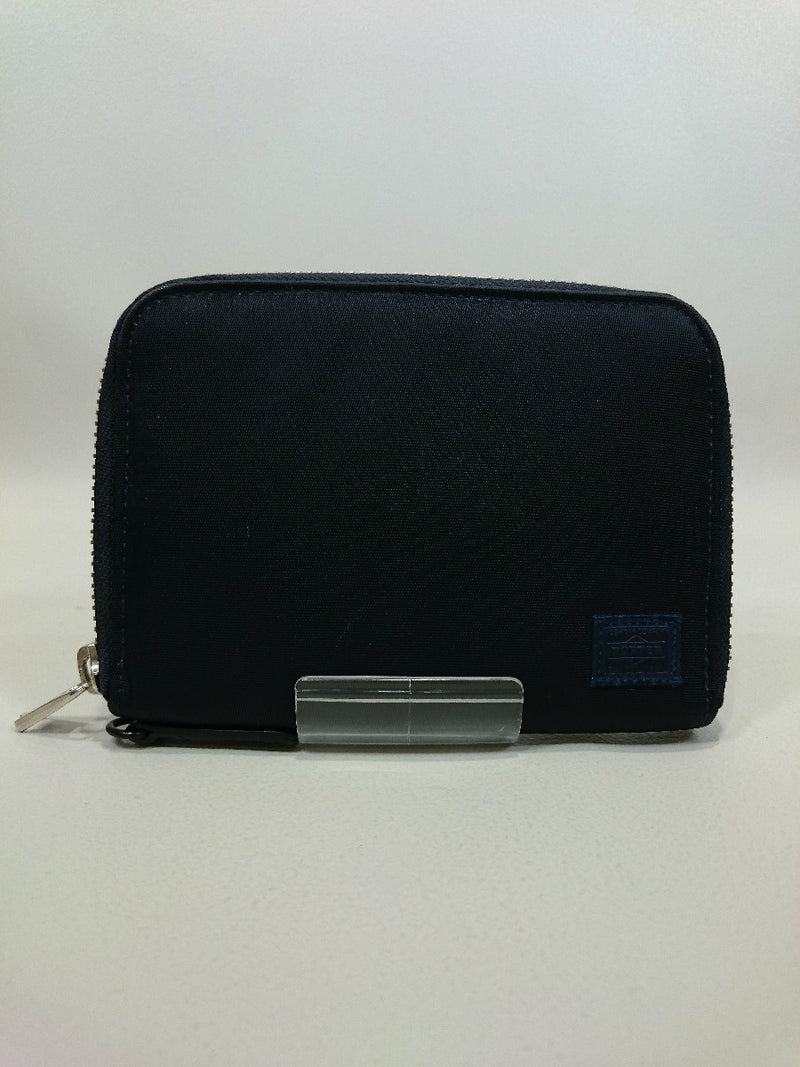 Navy Color Nylon Wallet [Pre-Owned]