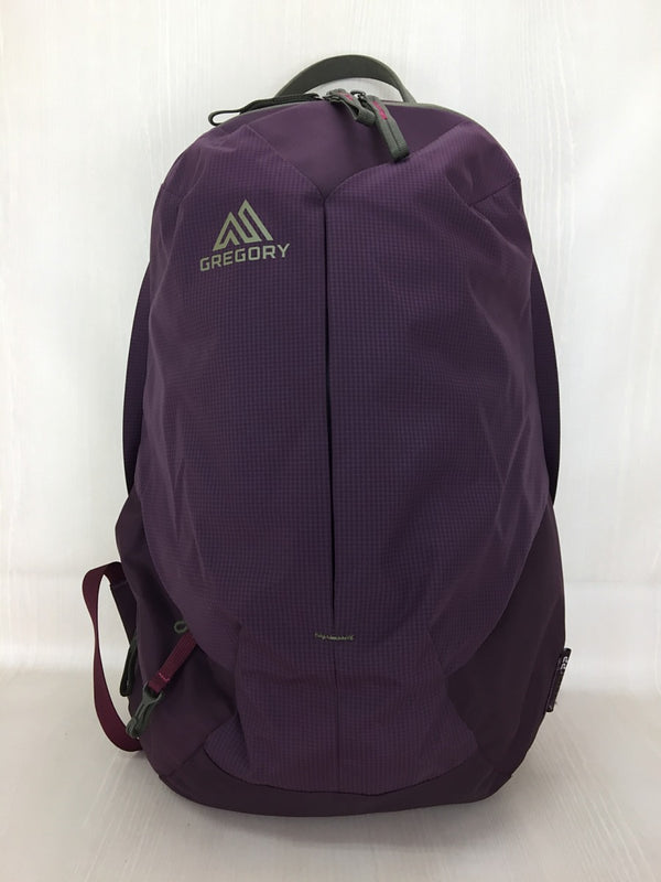 Bordeaux Color Nylon Backpack [pre-owned]