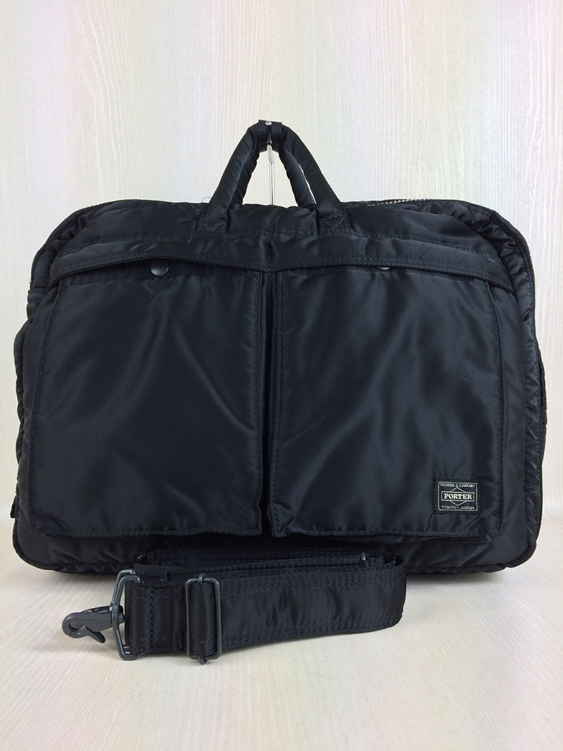 Black Color Nylon Briefcase Bag [Pre-Owned]