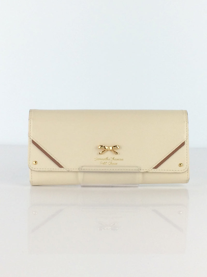 Ivory Color Wallet [Pre-Owned]