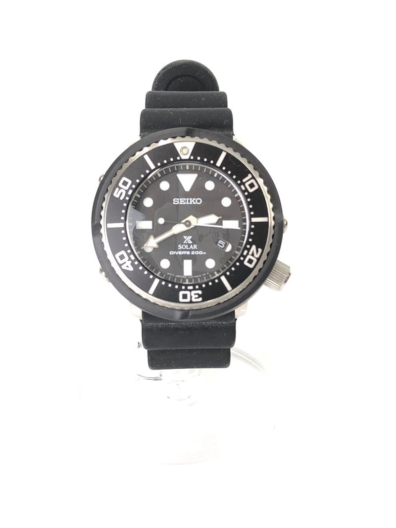 Black Color Rubber Men's Watch [Pre-Owned]