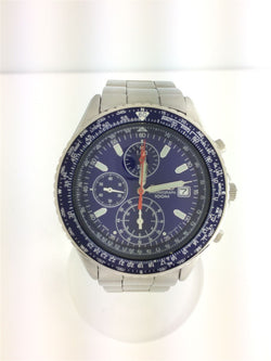 Blue Color Stainless Steel Men's Watch [Pre-Owned]