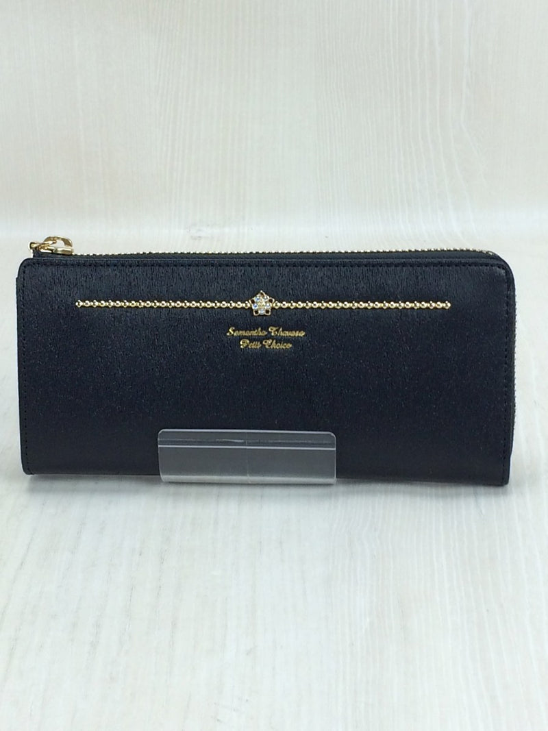 Black Color Long Purse [Pre-Owned]