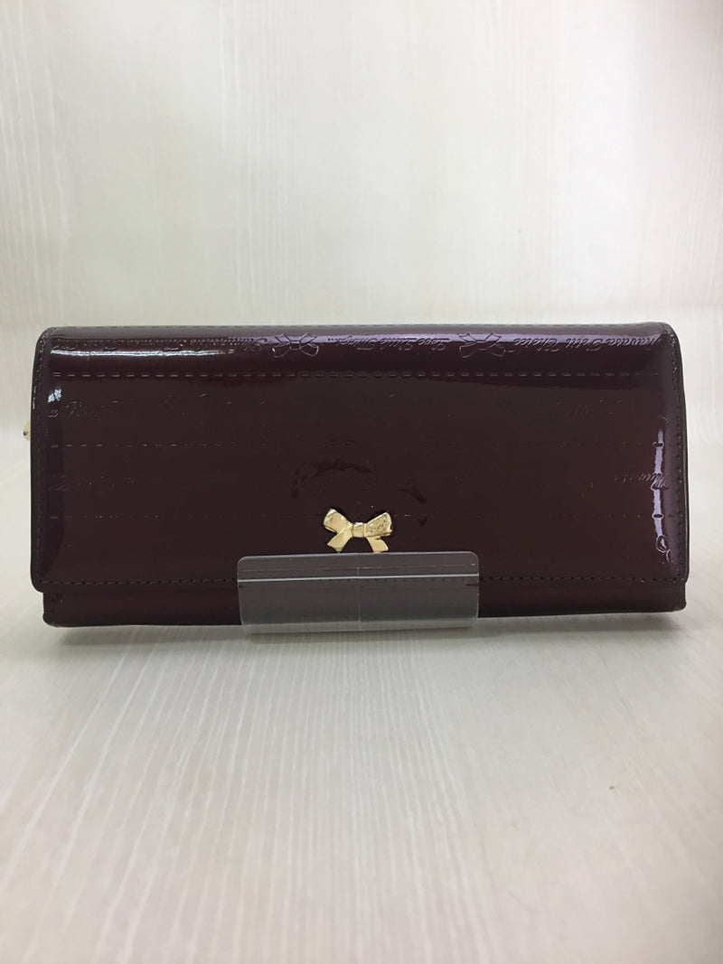 Brown Color Enamel Purse [Pre-Owned]