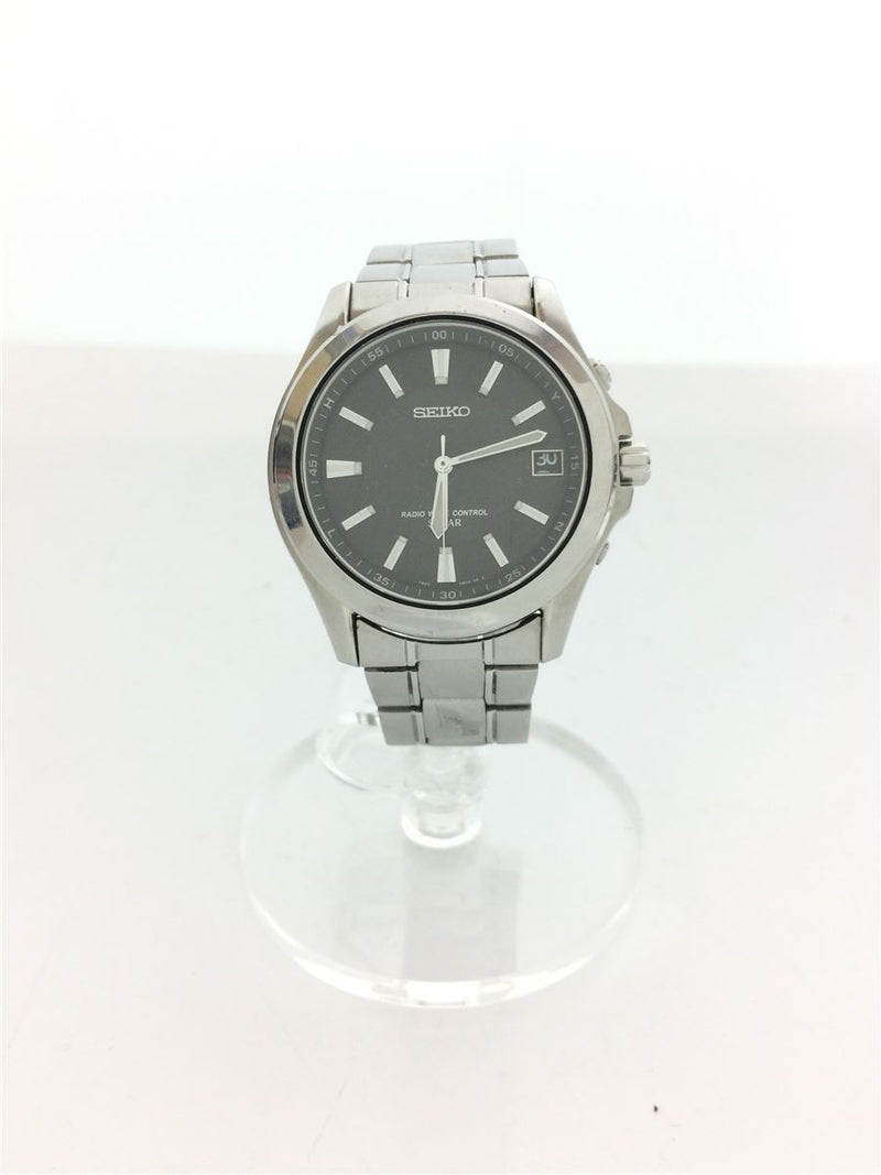 Black Color 7B22-OAYO Stainless Steel Men's Watch [Pre-Owned]