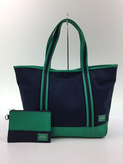 Navy Color Canvas Tote Bag [Pre-Owned]