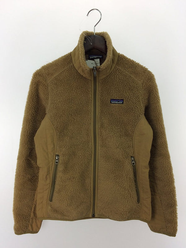 Beige Color Polyester Women's Fleece Jacket [Pre-Owned]