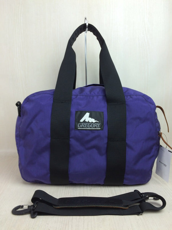 Purple Color Nylon Bag [pre-owned]