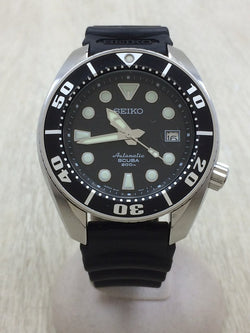 Black Color Rubber 6R1500G0 Men's Watch [Pre-Owned]