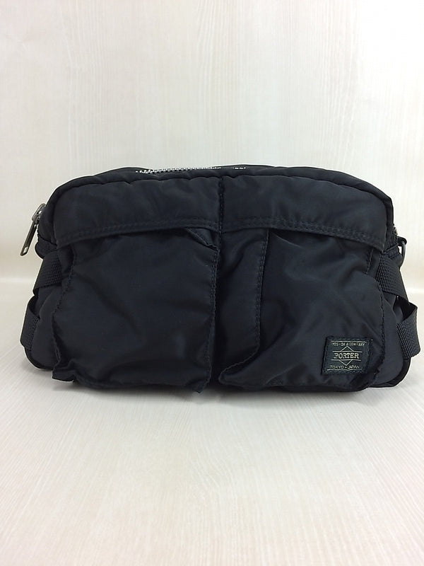 Black Color Nylon Bag [Pre-Owned]