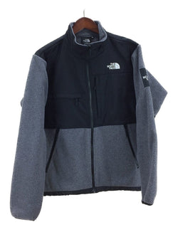 Gray Color Polyester Men's Fleece Jacket [Pre-Owned]