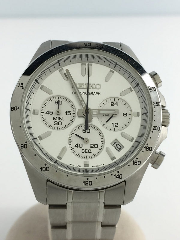 Silver Color Stainless Steel Men's Watch [Pre-Owned]