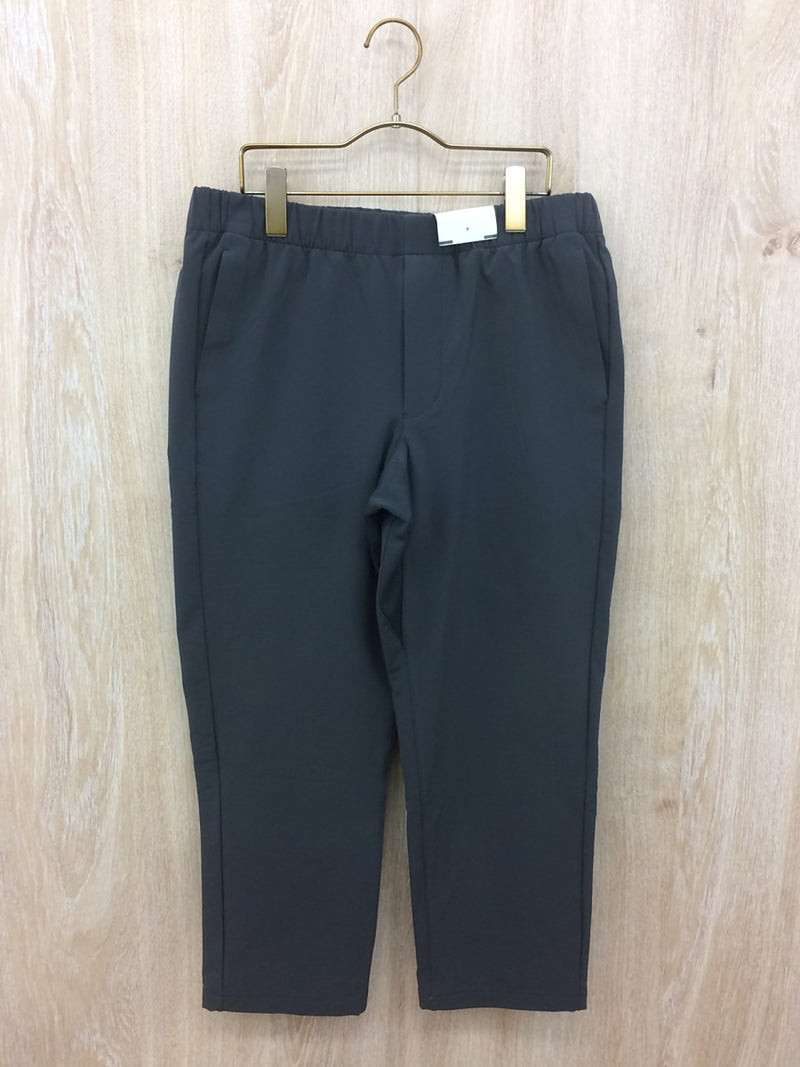 Gray Color Nylon Men's Straight Pants [Pre-Owned]