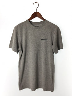 Gray Color Cotton Men's T-shirt [Pre-Owned]