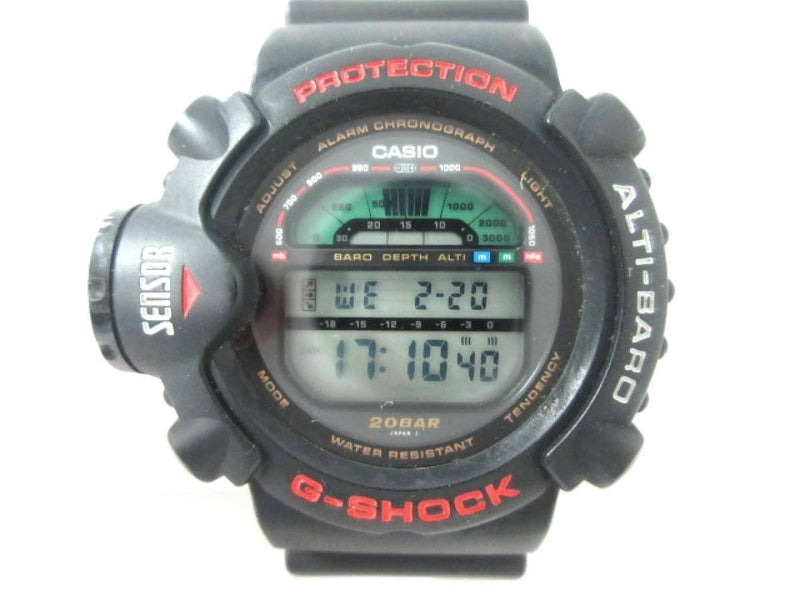 CASIO G-SHOCK DW-6500 Sky Force Black Colors Men's Watch [Pre-Owned]