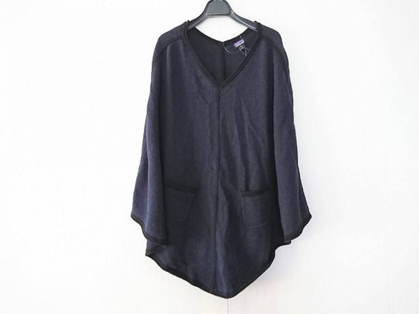 Navy color & Black Knit Wome'n Sweatshirt [pre-owned]