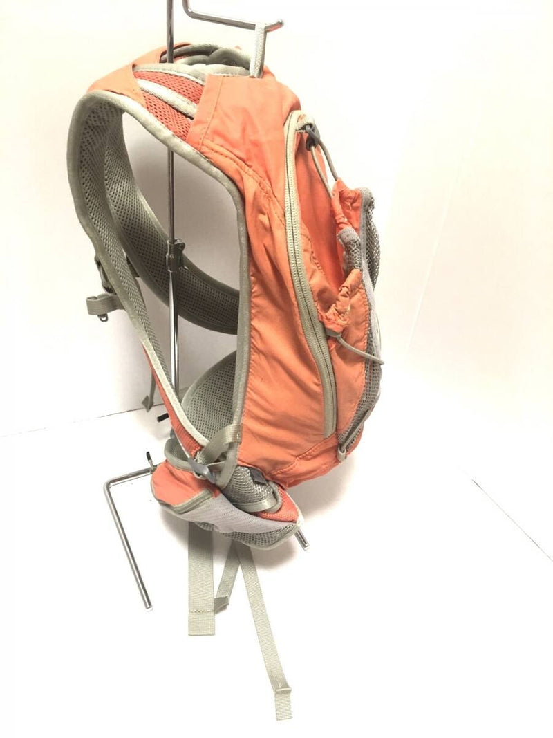 rucksack orange chemical fiber backpack [pre-owned]