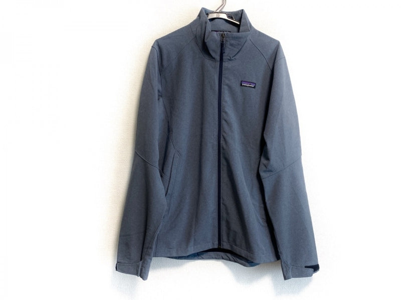 Navy spring men's jacket [pre-owned]