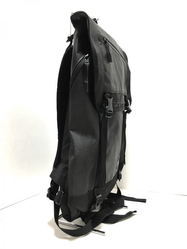 rucksack black nylon backpack [pre-owned]